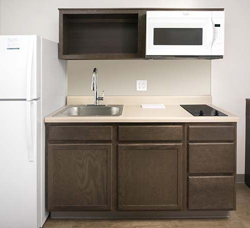 4 WoodSpring Suites Extended Stay Hotel Kitchen 1 GENERIC 738x456