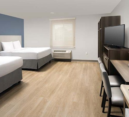 7B WoodSpring Suites Extended Stay Hotel Two Bed Suite ADA GENERIC 738x456